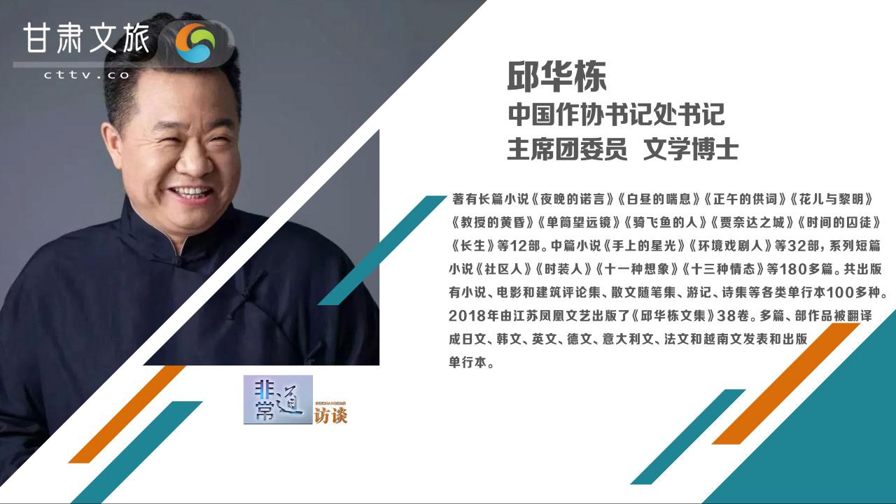 非常道访谈——邱华栋:《哈瓦纳波浪》全球背景下中国人的精彩故事