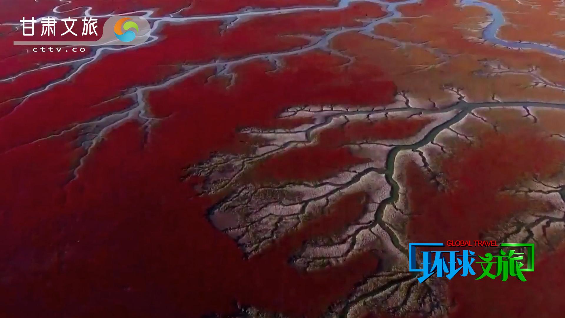 人间大美红海滩