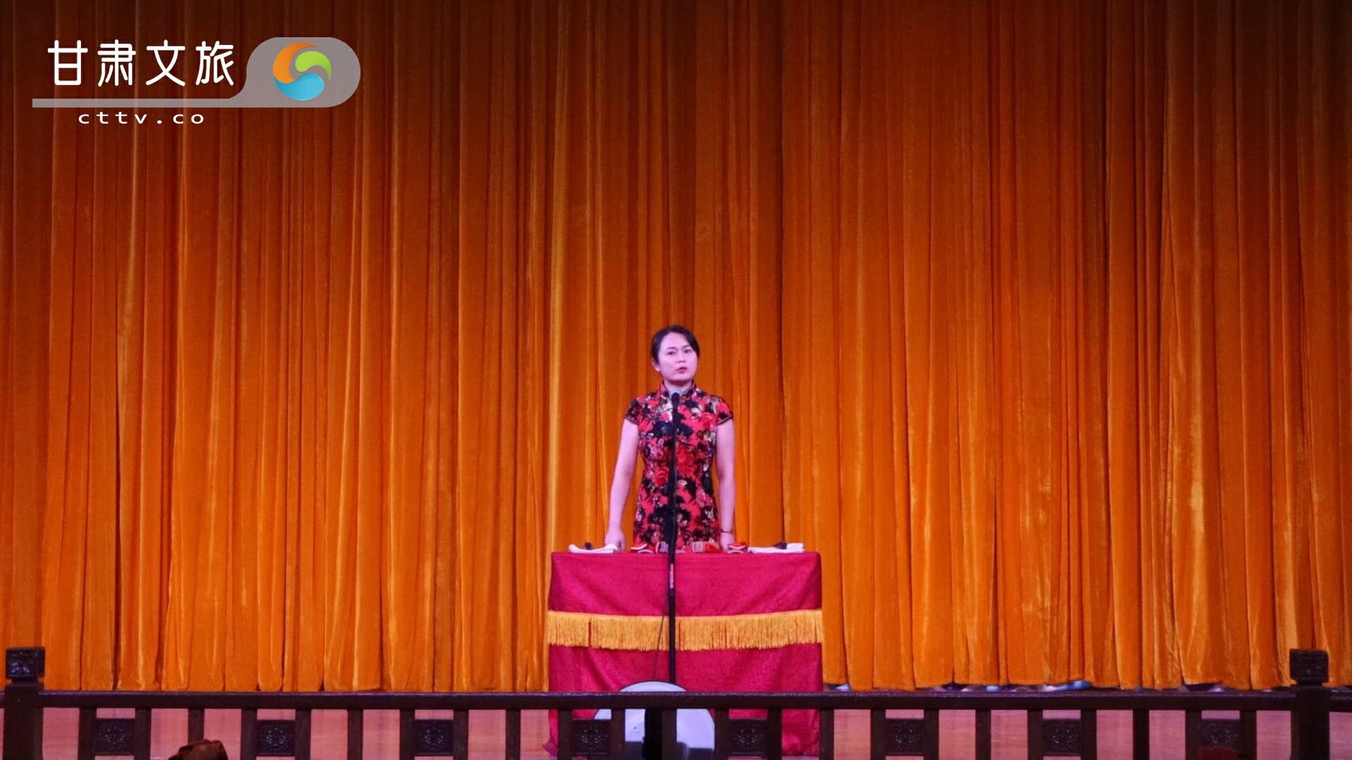 甘肃省曲协优秀曲艺作品展播——评书《情系航天》