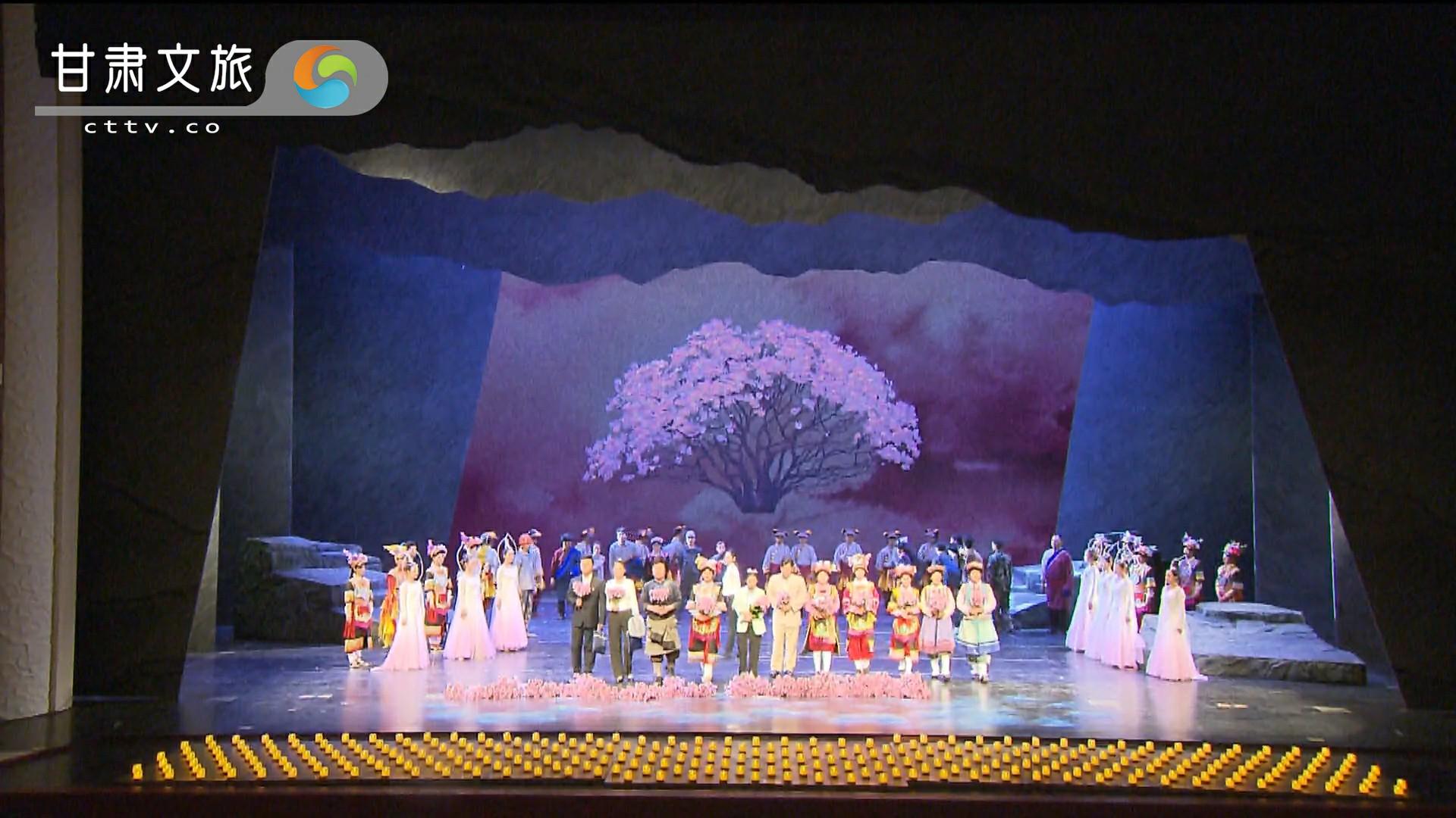《达玛花开》——来年的达玛花再次盛开,藏乡儿女用达玛花缅怀张小娟