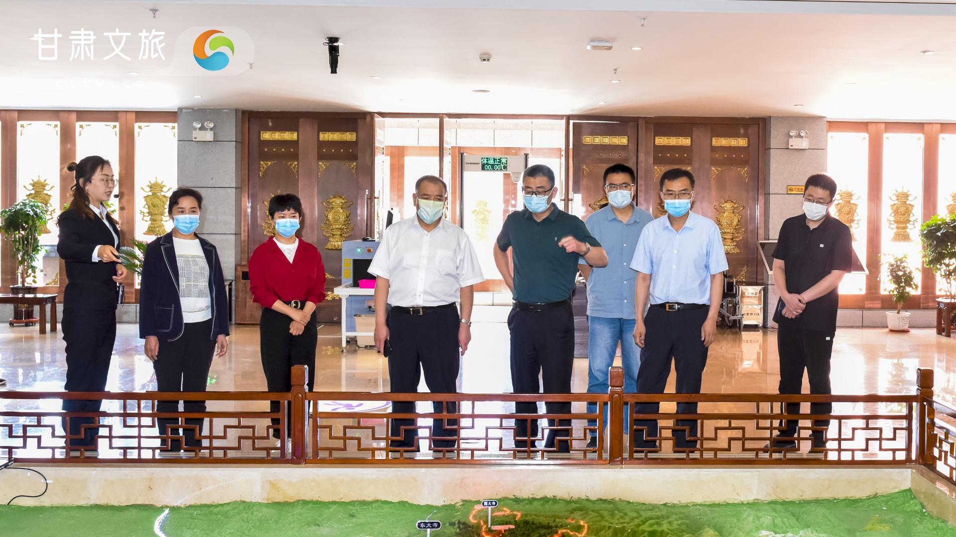 中国文联调研组一行在甘肃调研基层文联组织建设情况