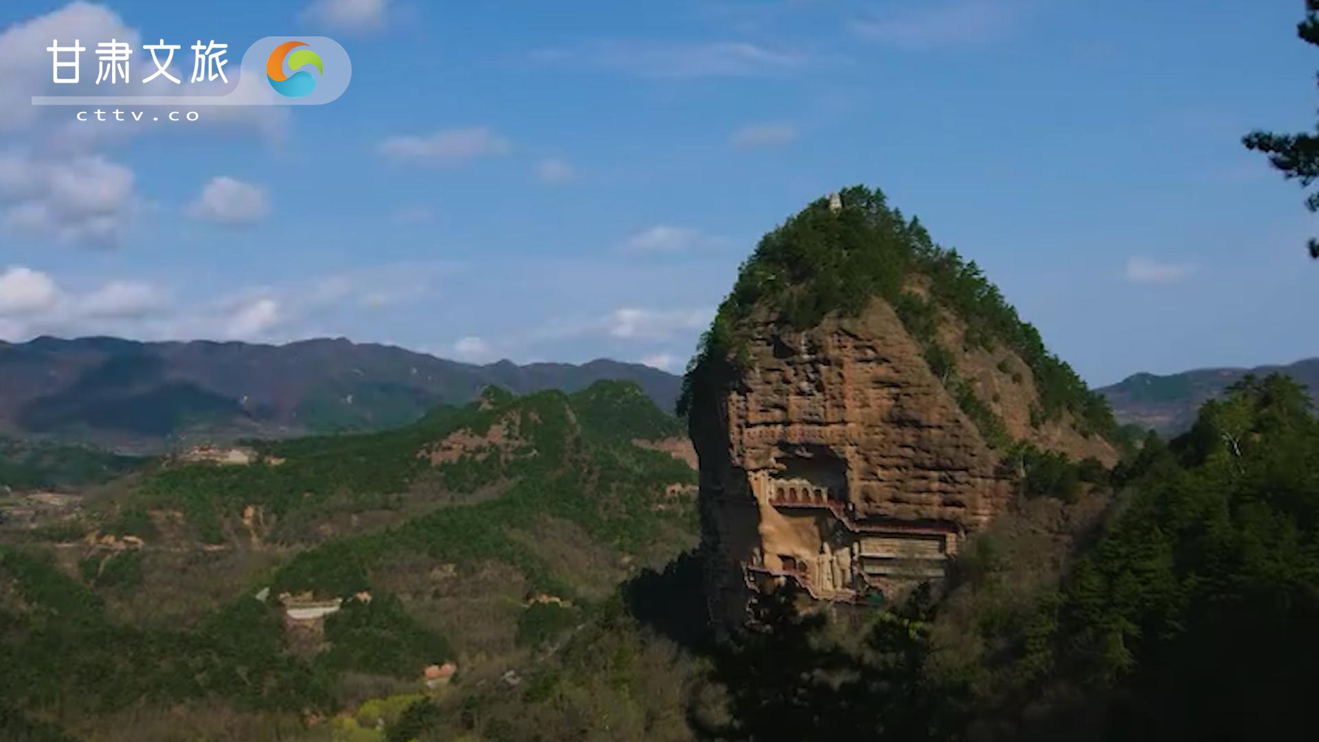 天水麦积山石窟——东方雕塑艺术陈列馆