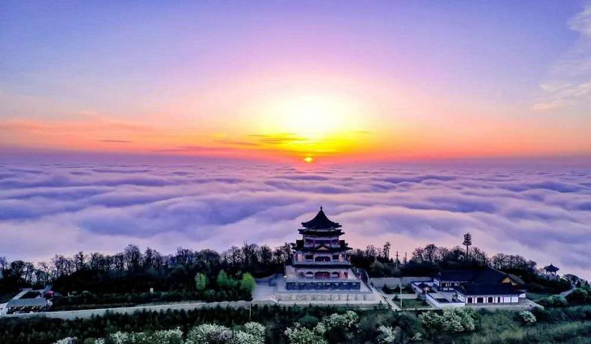 疫情防控 甘肃文旅特别报道丨春暖花开,相约崆峒