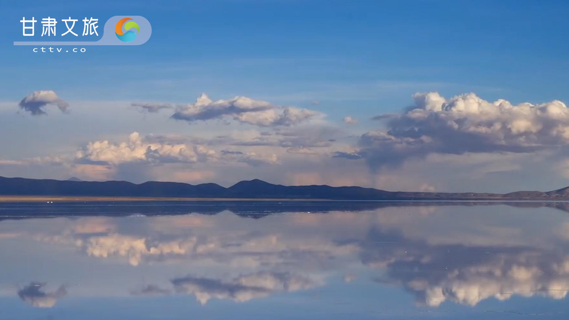 """中国的""""天空之镜""""——茶卡盐湖"""