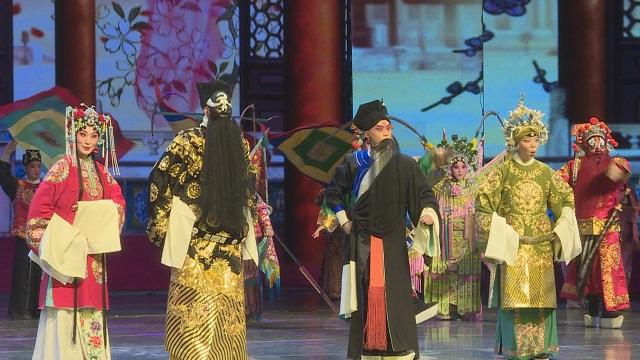 京劇名家合唱《國韻芬芳》勁健婉轉,驚艷全場