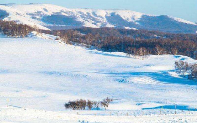冬日戀歌--烏蘭布統的冬天值得你走一趟