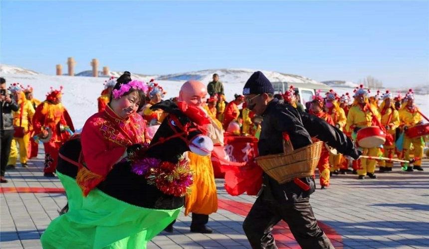 舞社火、猜燈謎、地蹦子,甘肅這些春節習俗有啥不一樣?