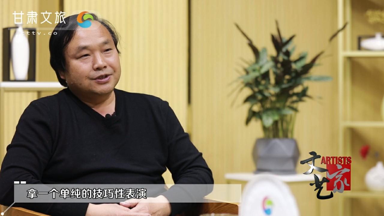 张学义:融合地域特色 树立甘肃品牌