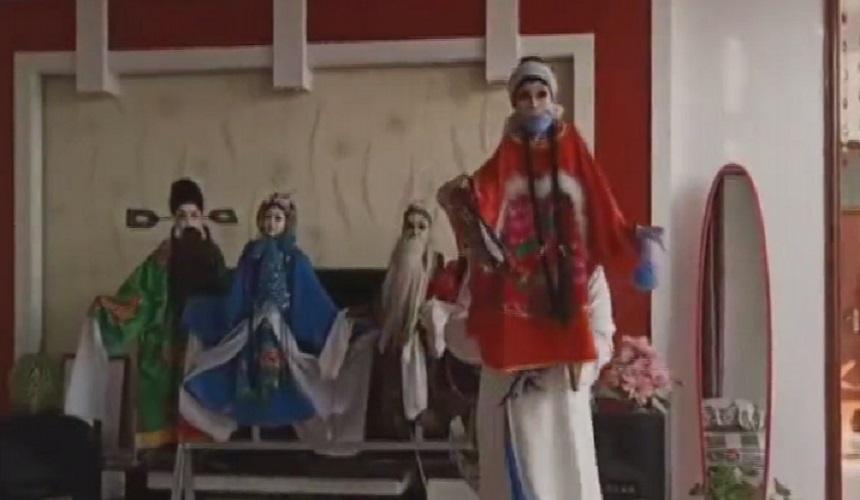 蘭州文旅戰疫行動丨木偶戲表演《抗疫戰疫齊向前》