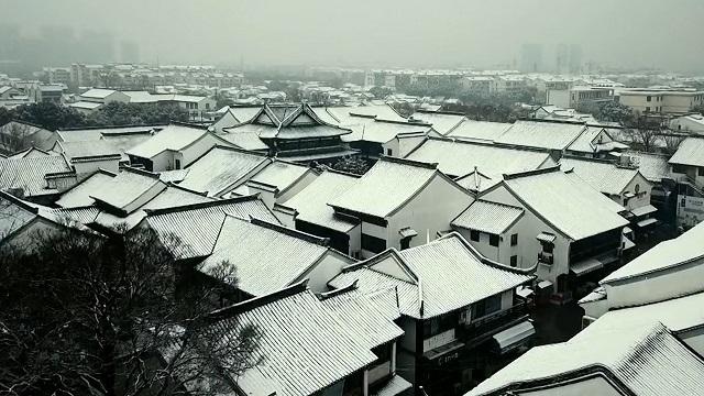 一場雪,一座城,雪后的這些城市,猶如穿越時空隧道