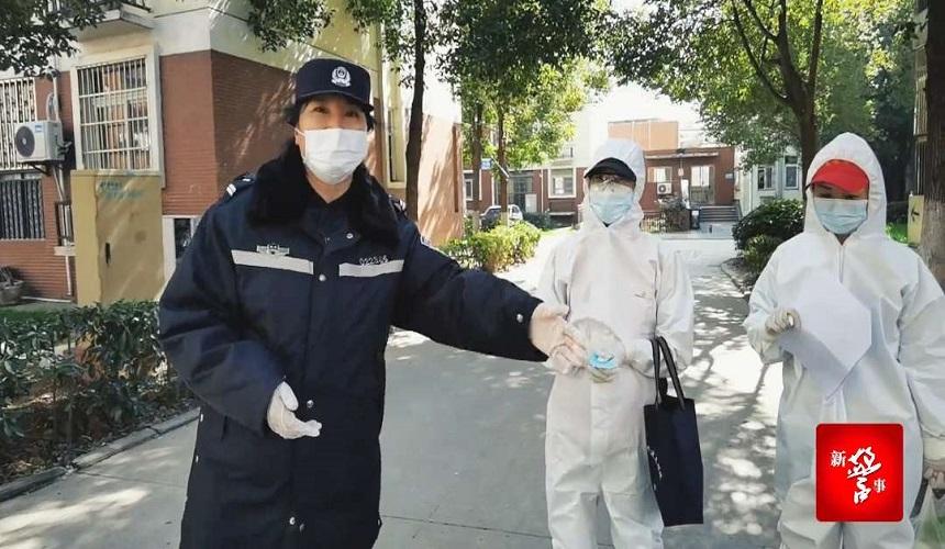 疫情防控 甘肃文旅特别报道丨责任担当,《社区女警史雪荣》