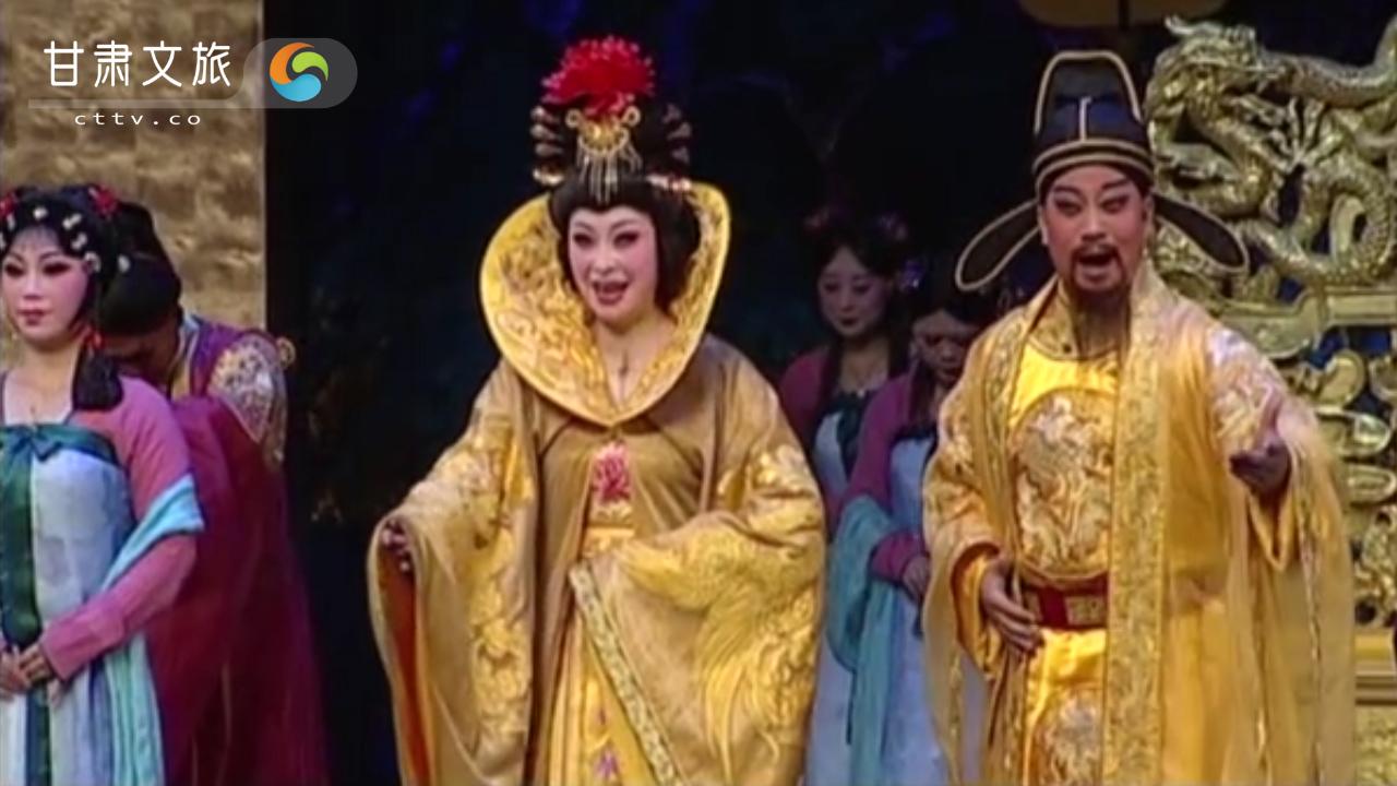 唐明皇为杨贵妃贺寿