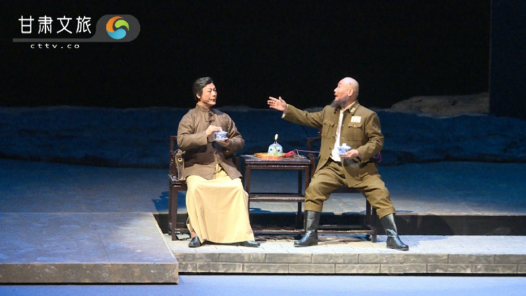 秦腔现代戏《肝胆祁连》——高金城交涉赎回两名被俘女红军
