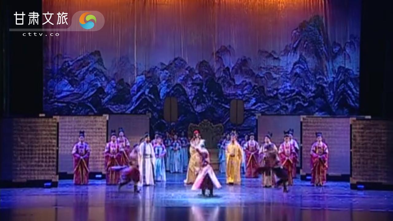安禄山大殿跳舞认干娘
