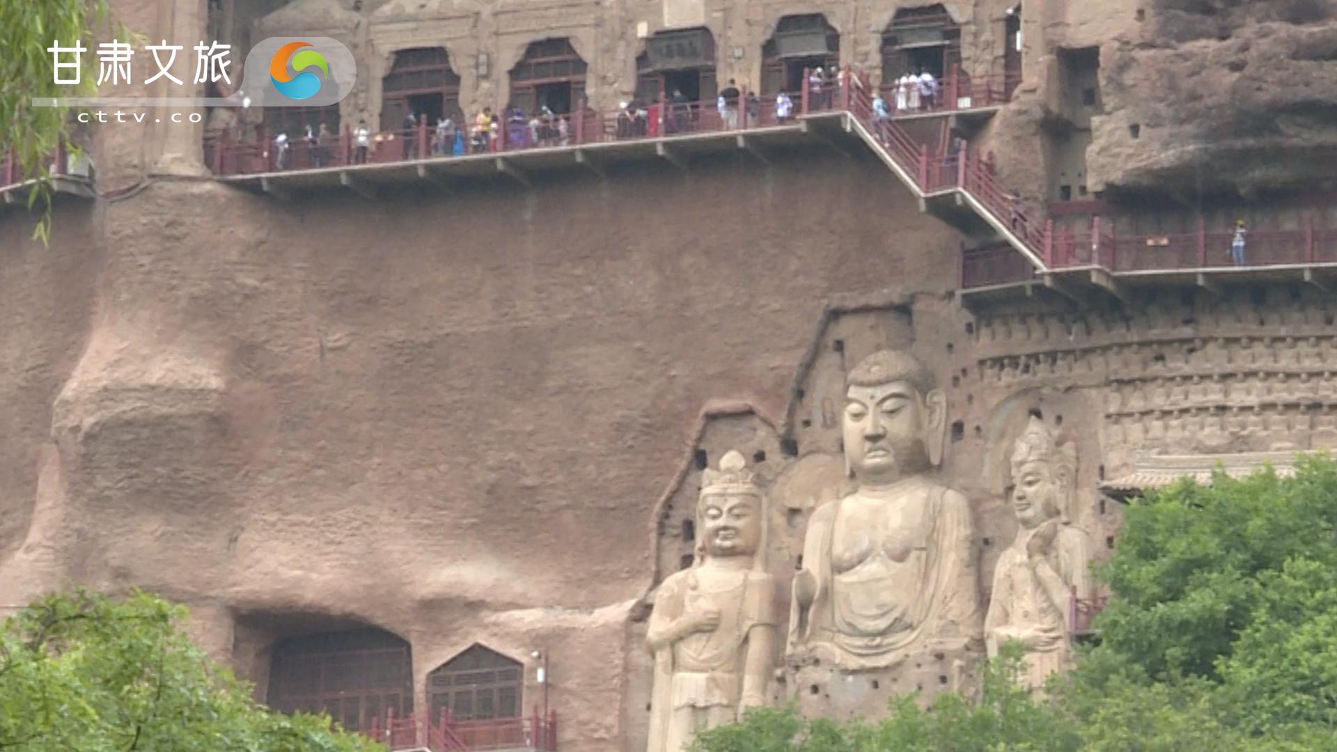 东方雕塑馆之麦积山石窟