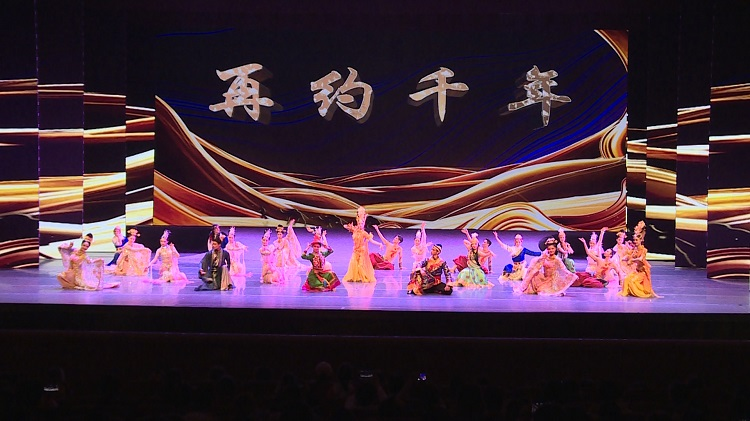 曼妙舞姿里的民族风格