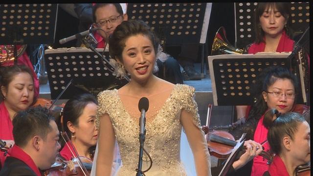 歌曲《我的祖国》唱响音乐会,如闻天籁余音环绕