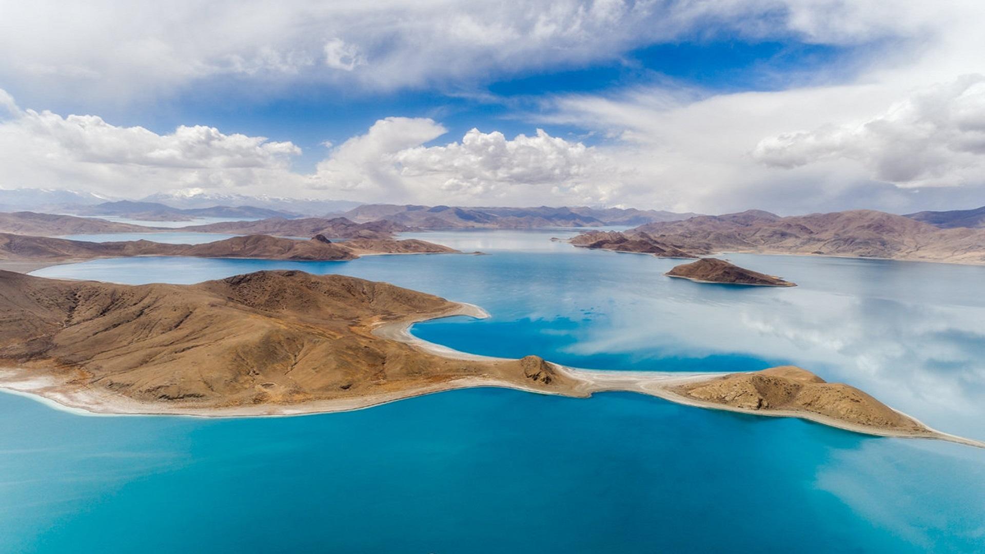 西藏三大圣湖之一,简直不要太美了!