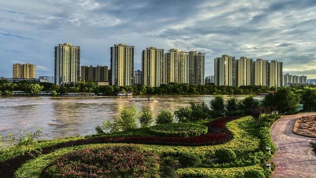 黄河之滨,叫你赏心悦目的美景