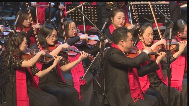 交响乐《我的中国心》,激昂澎湃气势磅礴