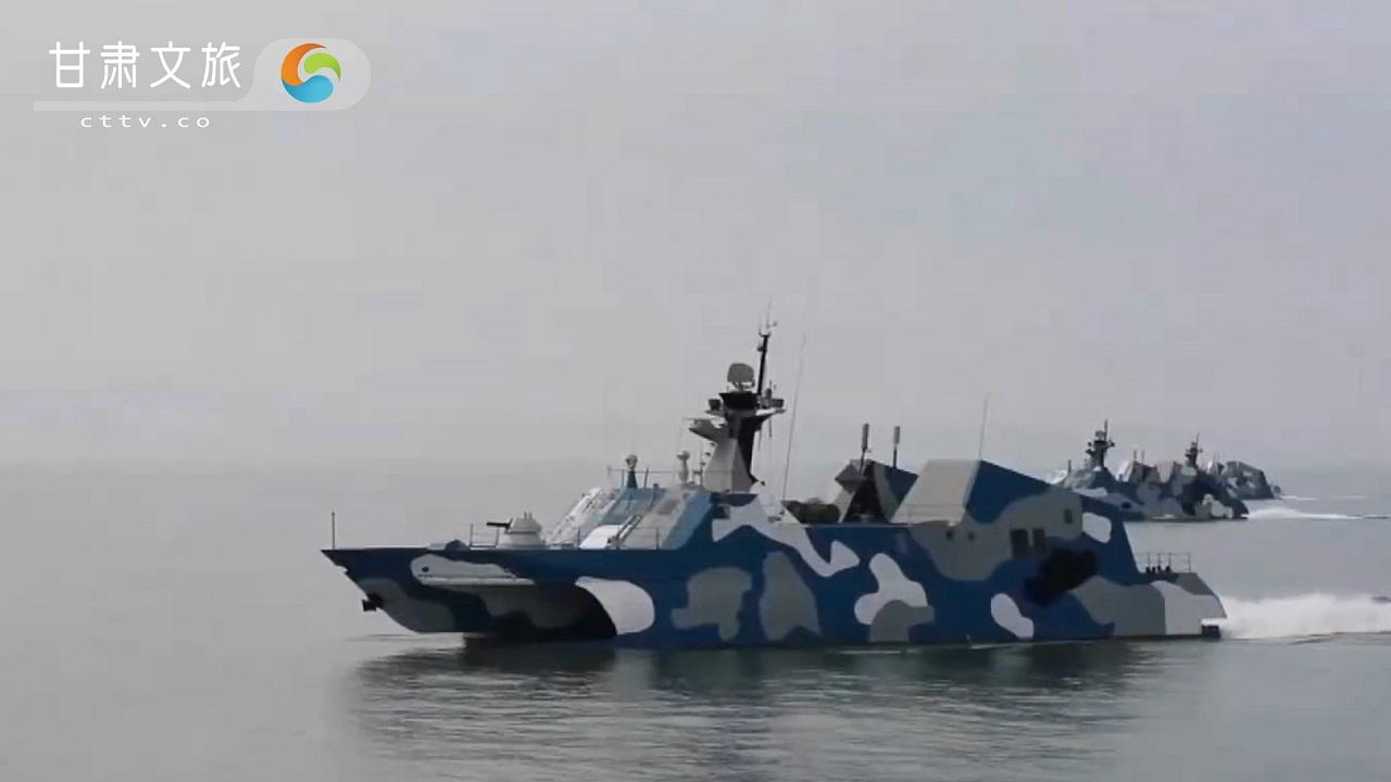 航母编队的小型刺客——022导弹快艇