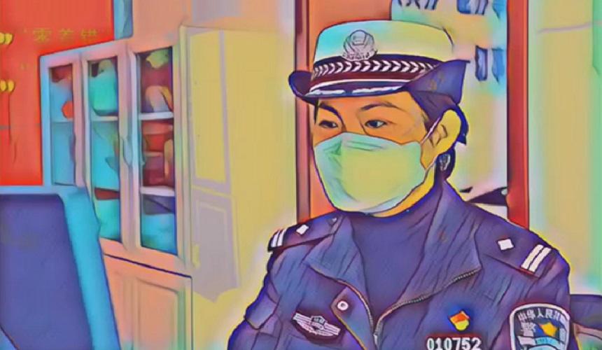 铿锵玫瑰战疫情 兰州女警有担当