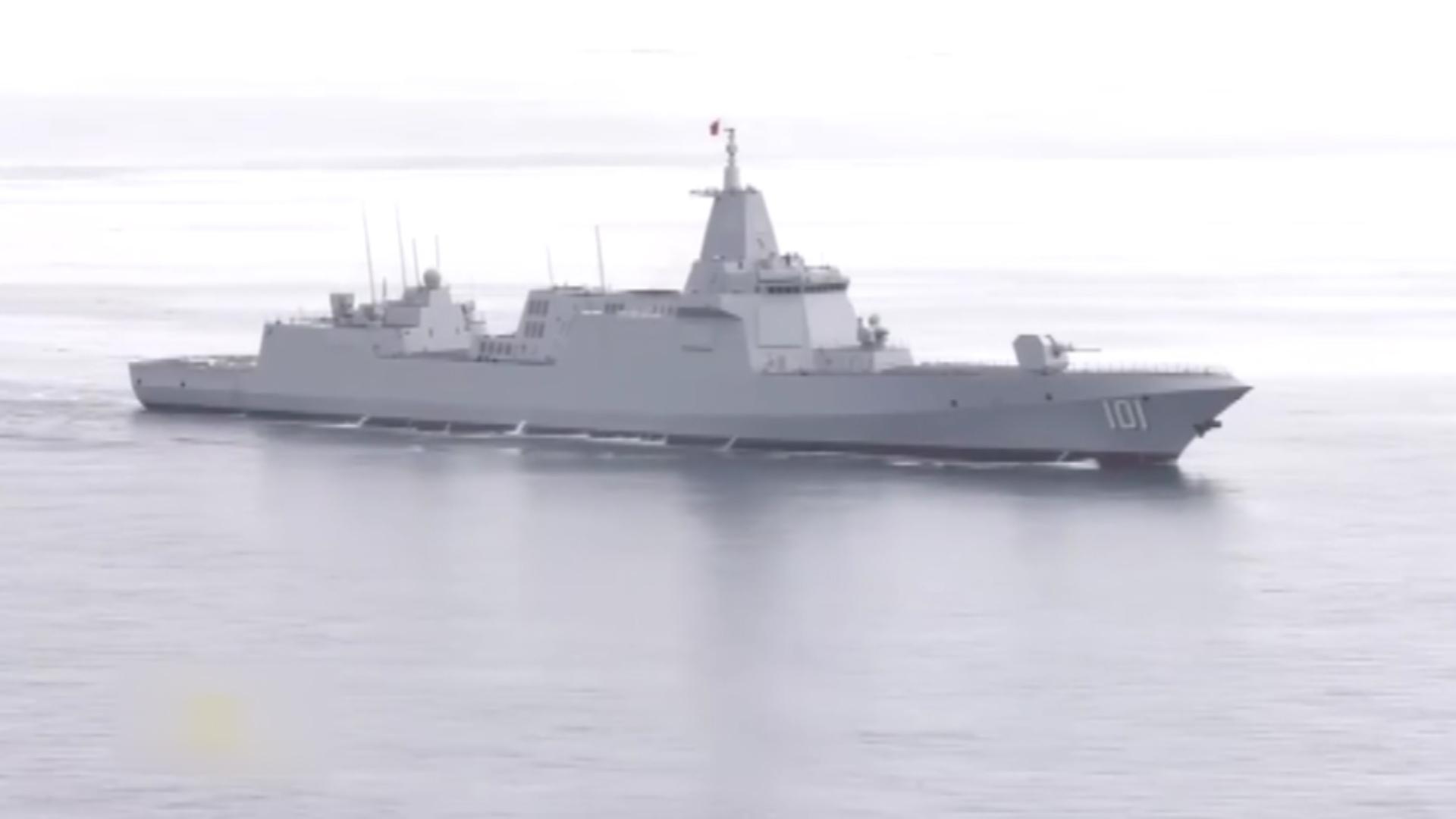 中国海军走向远洋的重要标志——055型驱逐舰