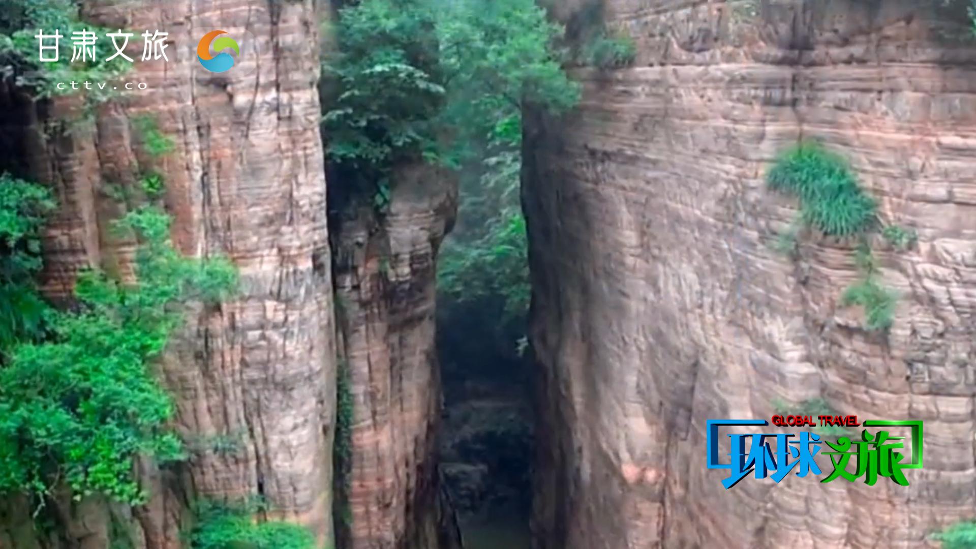 山水画廊——龙潭大峡谷
